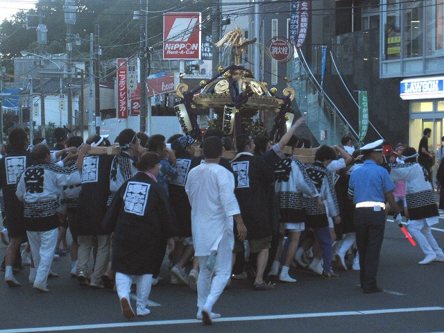 吉田町のお神輿 2011/0918
