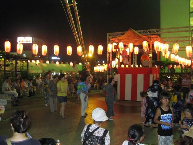吉田町内会・ラピス商店会・盆踊