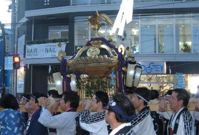 吉田町の御神輿
