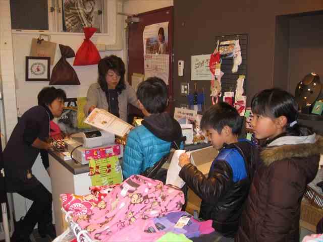 子供服リトルギャング ひな祭り遊山箱スタンプラリー 2014/03/01