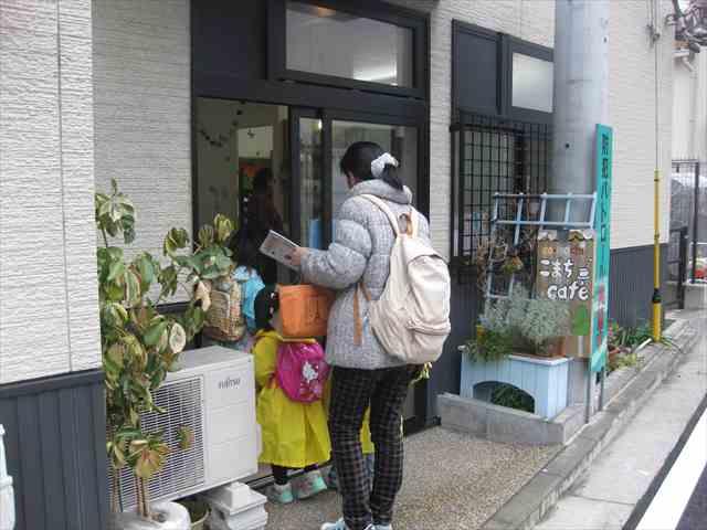 こまちカフェ ひな祭り遊山箱スタンプラリー2014/03/01