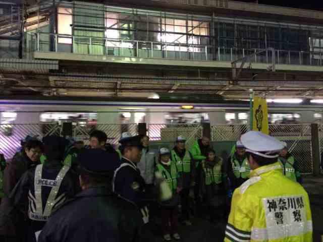 戸塚区の防犯パトロール2014/12/19