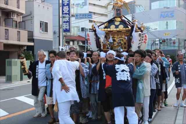 街山八幡社 秋の例大祭20150920