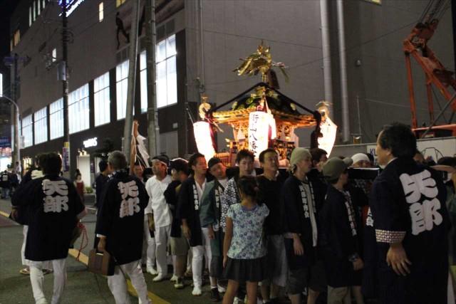 三町内会のお神輿