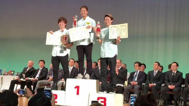 南理容館神奈川県理容競技大会第4部ブロースカット部門優勝