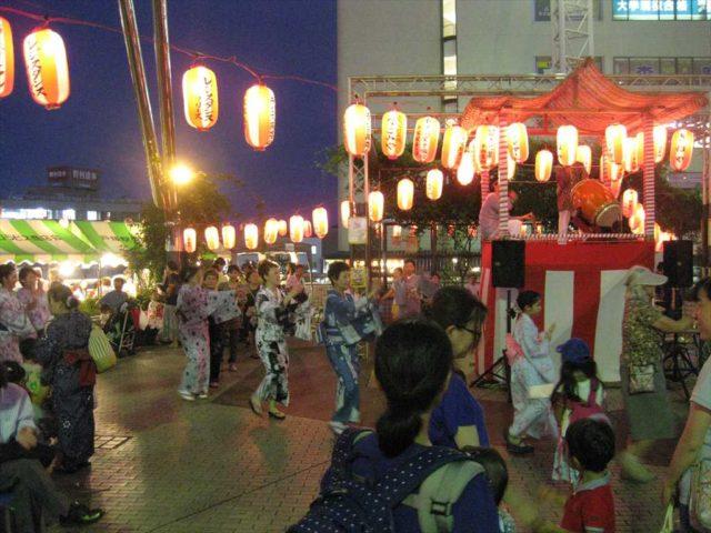 吉田町内会盆踊り2016.08.05