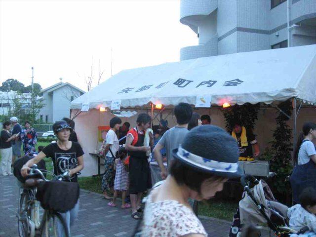矢部町内会盆踊り2016/08/06-07