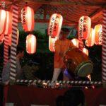 吉田町内会の盆踊り