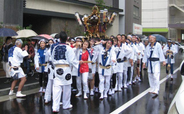 2017秋の例大祭吉田町