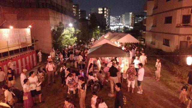 吉田町内会町盆踊り20180803