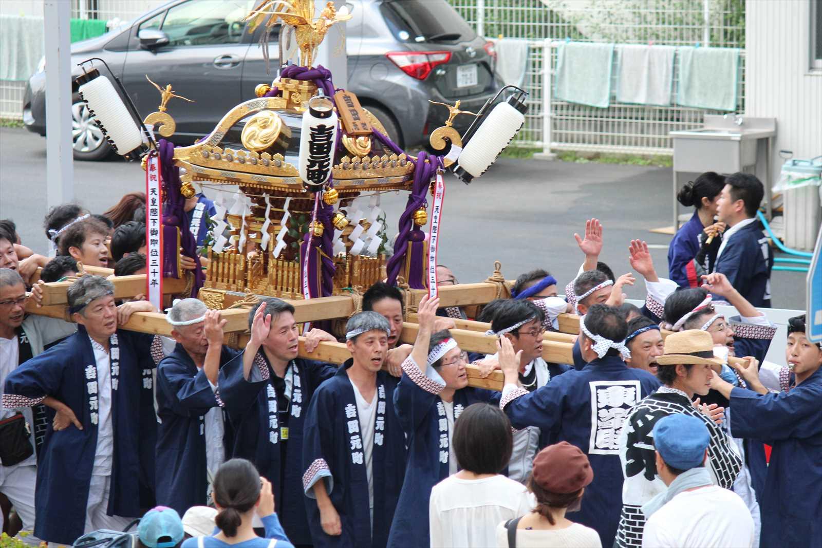 吉田元町のお神輿