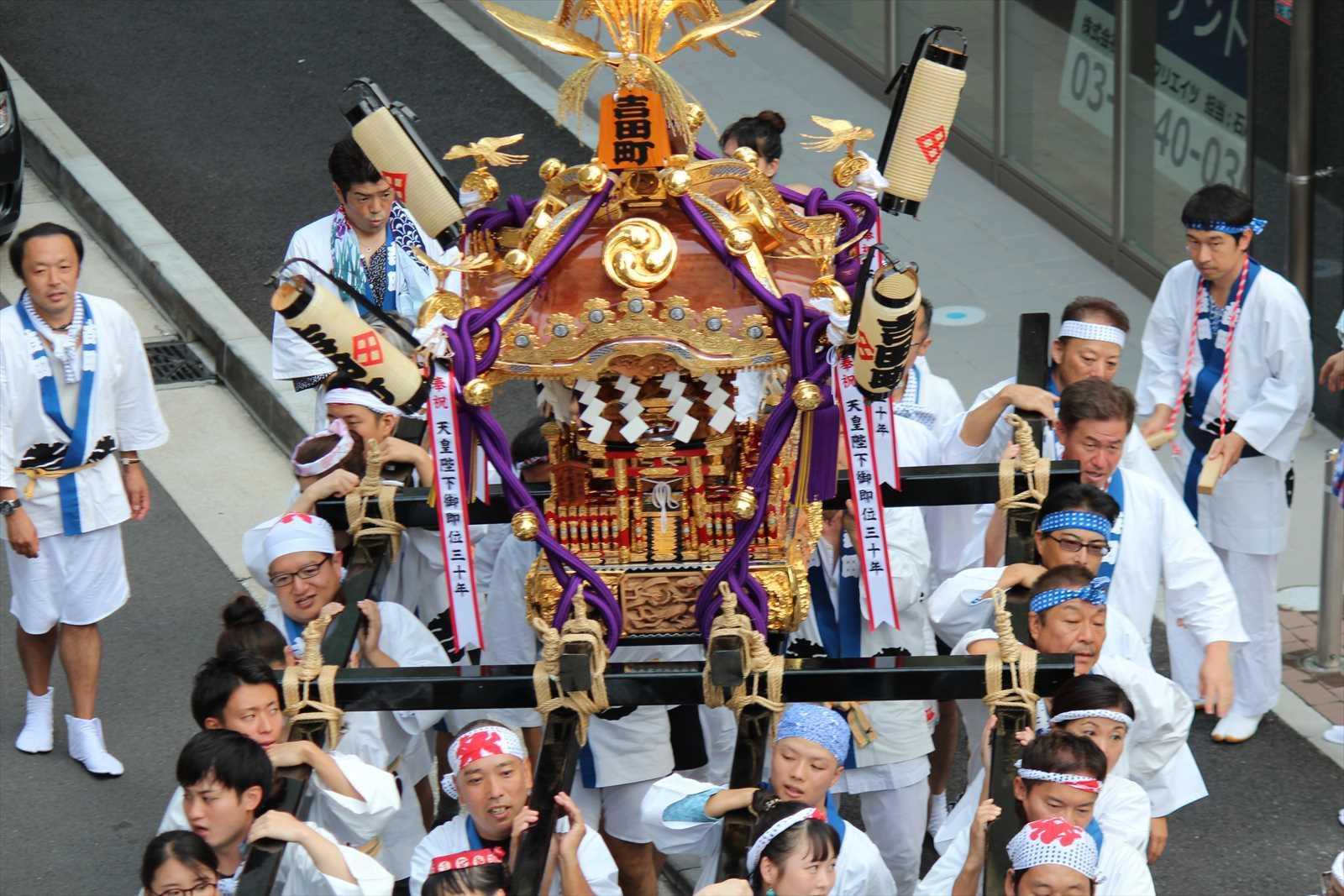 吉田町のお神輿