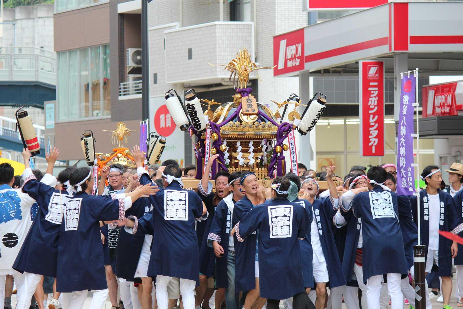矢部町内会のお神輿